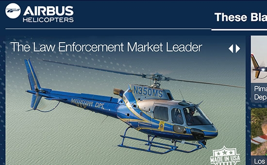 Airbus Helicopters - Sales Microsite