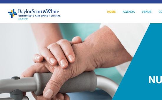 Baylor Scott & White Orthopedic and Spine Hospital at Arlington Website