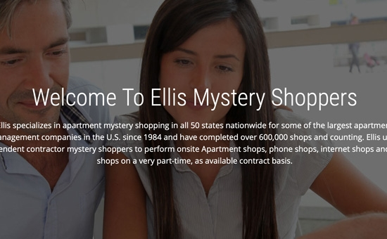 Ellis Mystery Shopper Website