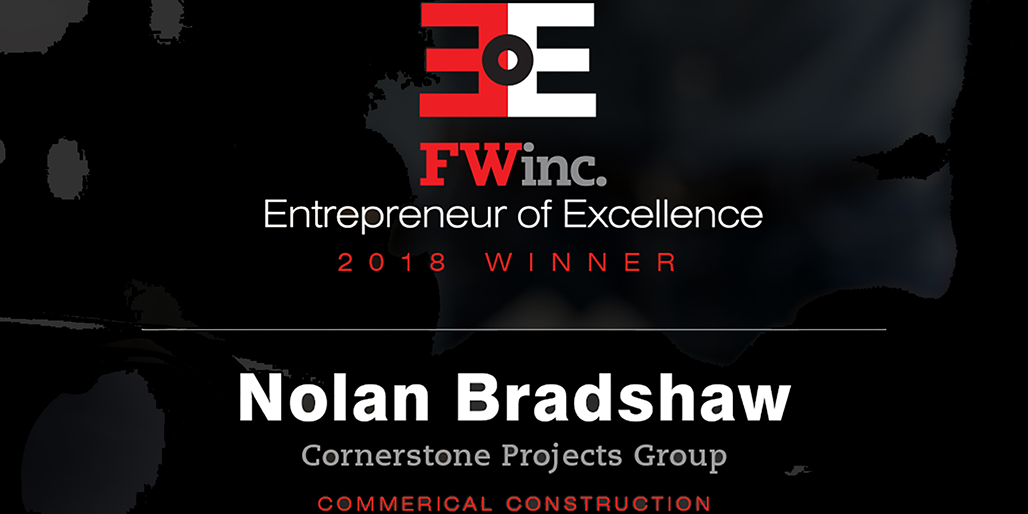 Cornerstone Projects Group President and Founder Named 2018 Entrepreneur Of Excellence