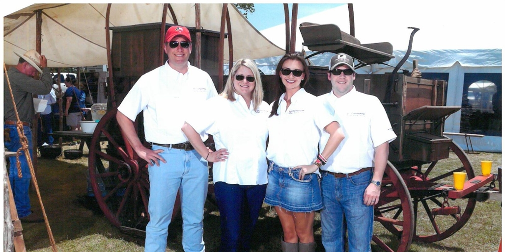Cornerstone Participates in Walsh Ranch Clayshoot
