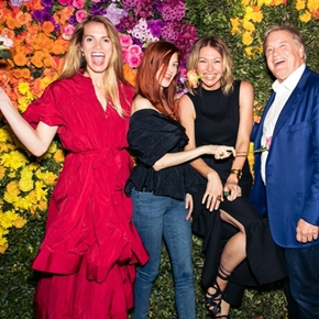 Flower-Powered Gala Closes Dallas Art Fair in Epic Fashion