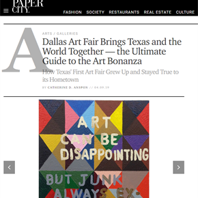 Dallas Art Fair Brings Texas and the World Together — the Ultimate Guide to the Art Bonanza