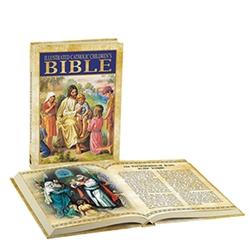 Illustrated Catholic Children's Bible-Hardcover