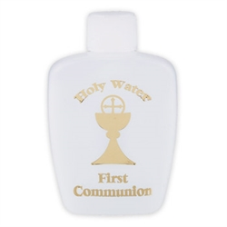 First Communion Holy Water Bottle