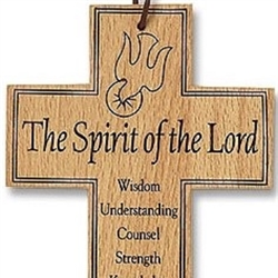 Confirmation Wood Prayer Cross