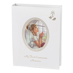 My First Communion Memories Photo Album-Girl