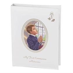 My First Communion Memories Photo Album Boy