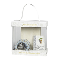 Everlasting First Communion Gift Set White