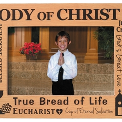 Body of Christ First Communion Frame