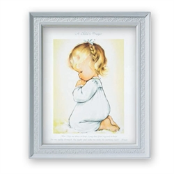 A Child's Prayer Girl picture