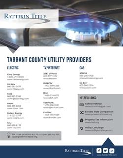 Tarrant Area Utilities