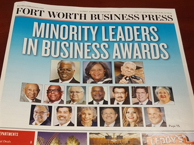 TRG President Rosa Navejar Honored with Minority Leaders in Business Award