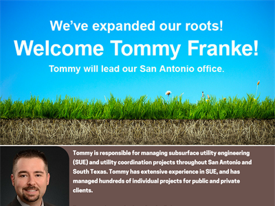 Tommy Franke Joins TRG as Senior PM and Lead Over San Antonio