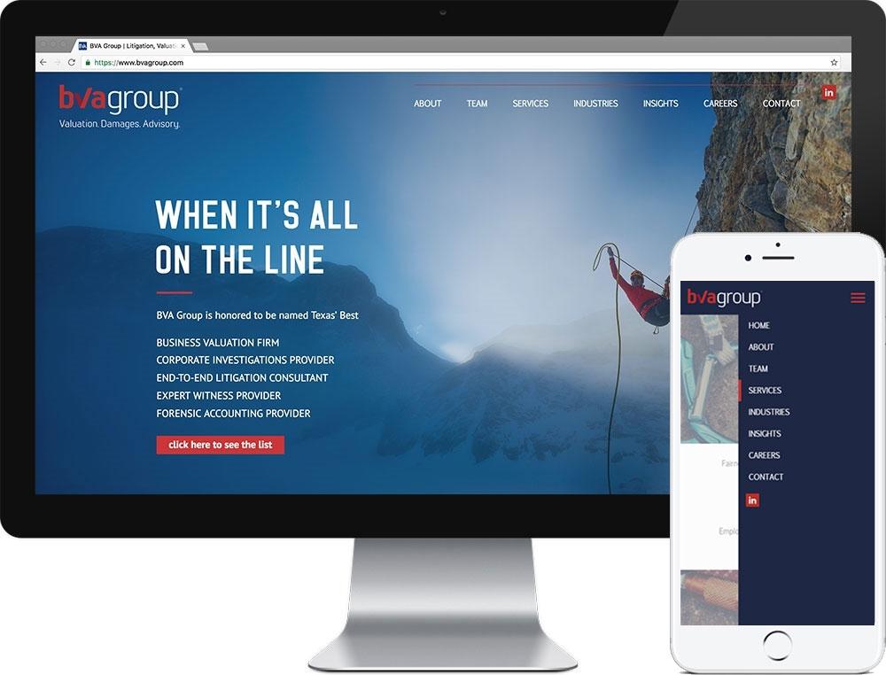 Website for BVA Group