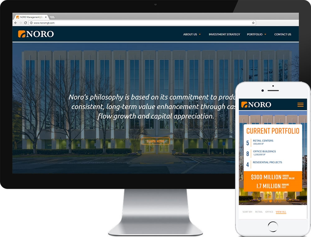 Website for NORO Management