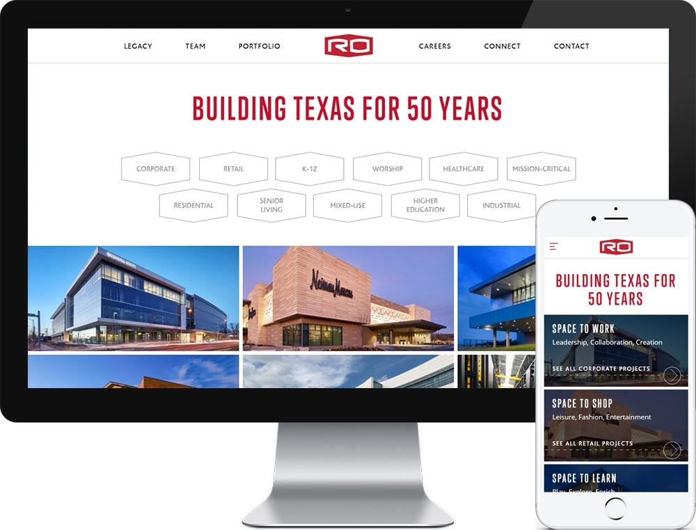 Website for Rogers-O'Brien