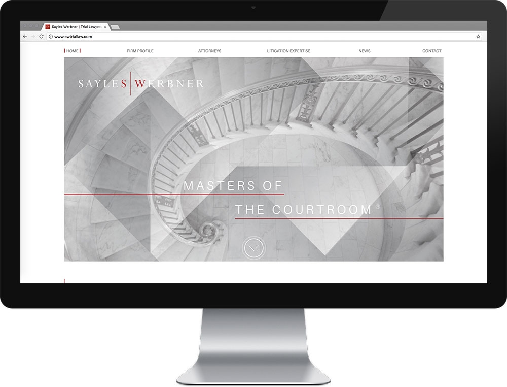 Website for Sayles Werbner