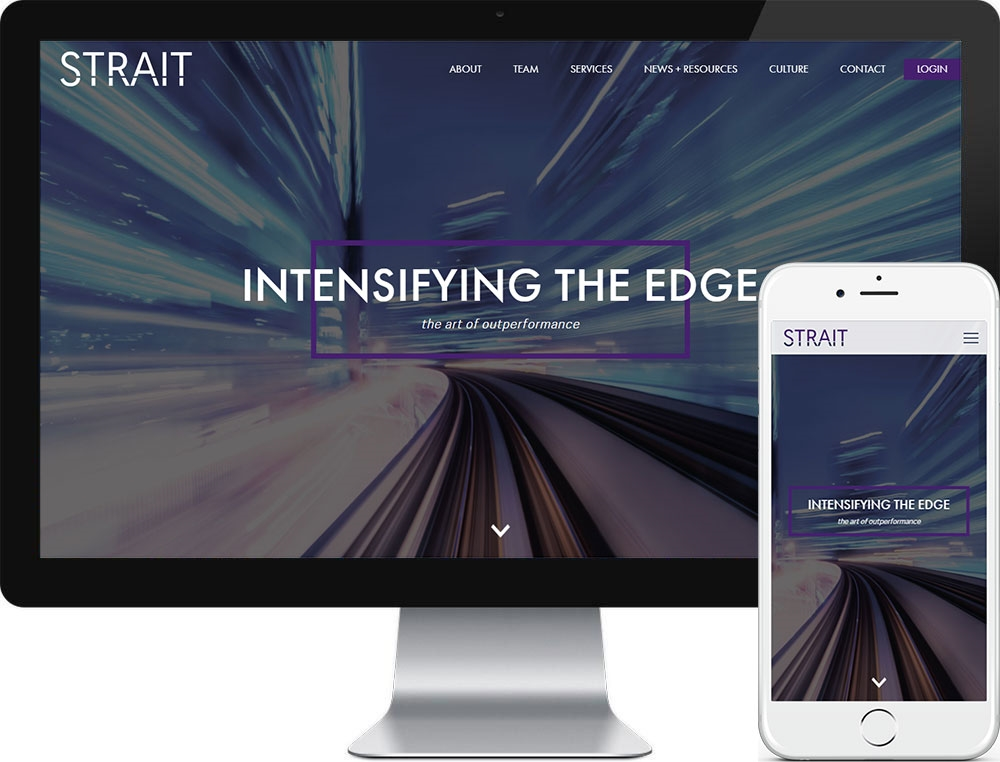 Website for Strait Capital