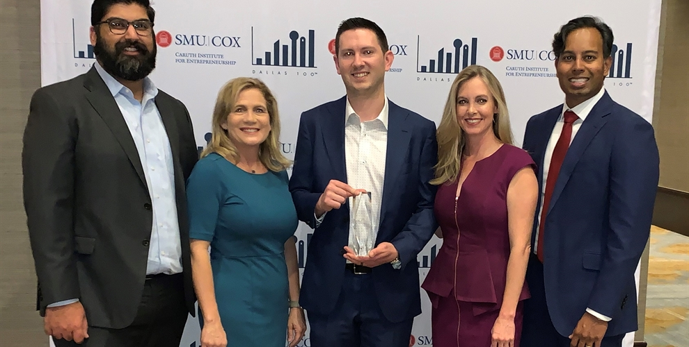 2019 Dallas 100 Entrepreneur Award